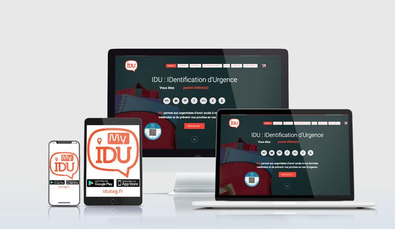 Activation Idutag web idutag.fr